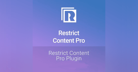 Restrict Content Pro