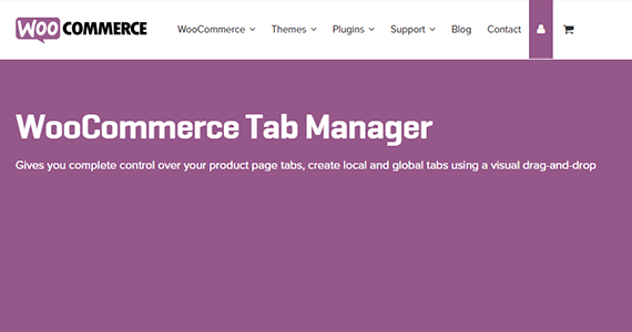 WooCommerce Tabs Manager