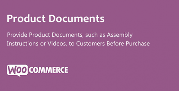 Product Documents for WooCommerce