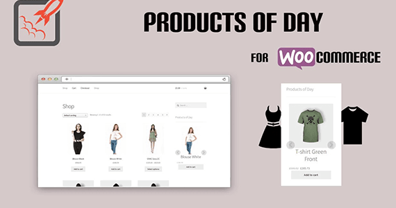 Products of the day woocommerce