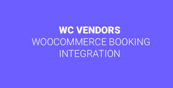 WC Vendors WooCommerce Booking Integration